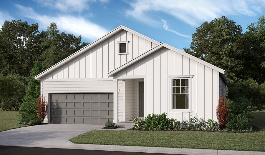 Exterior featured in the Onyx By Richmond American Homes in Salem, OR