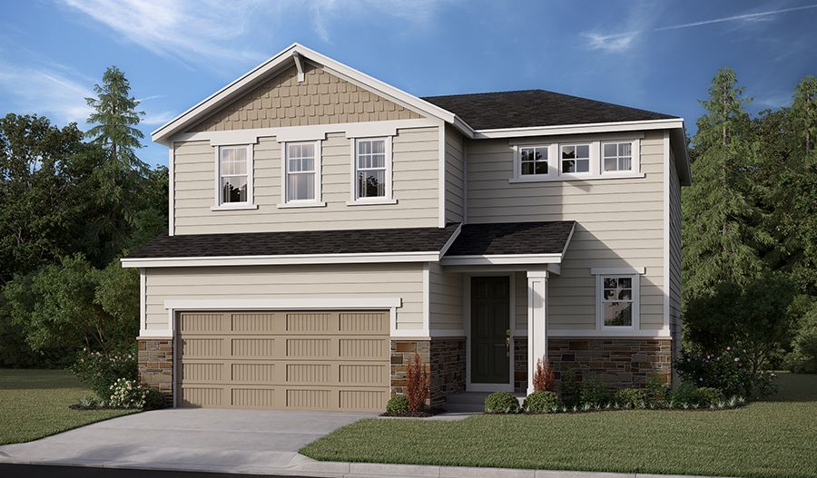 Exterior featured in the Coral By Richmond American Homes in Salem, OR