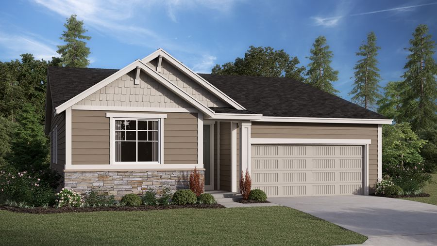 Exterior featured in the Alexandrite By Richmond American Homes in Salem, OR