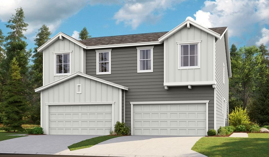 Exterior featured in the Ironwood By Richmond American Homes in Portland-Vancouver, WA