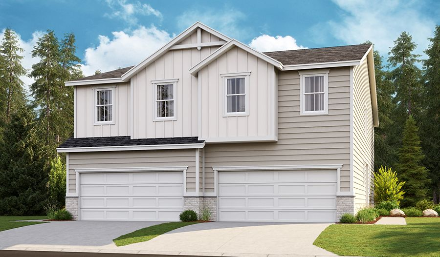 Exterior featured in the Marblewood By Richmond American Homes in Portland-Vancouver, WA