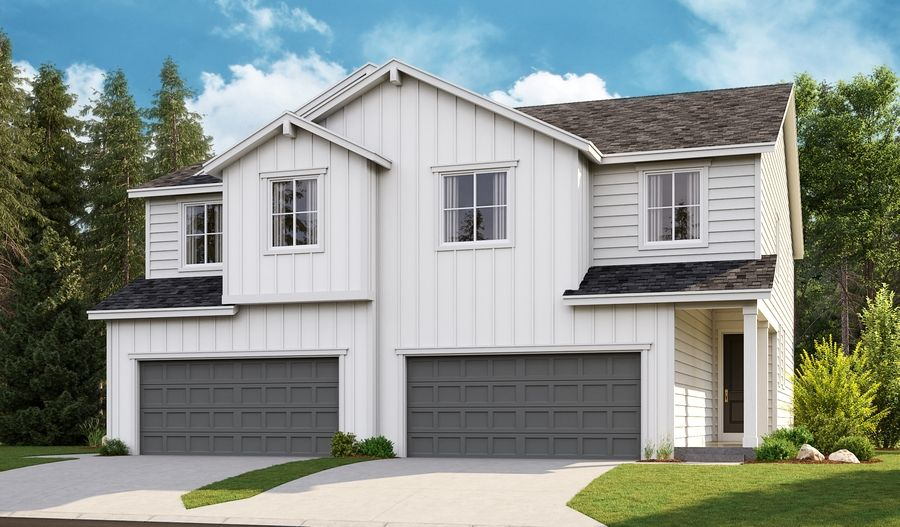 Exterior featured in the Sandalwood By Richmond American Homes in Portland-Vancouver, WA