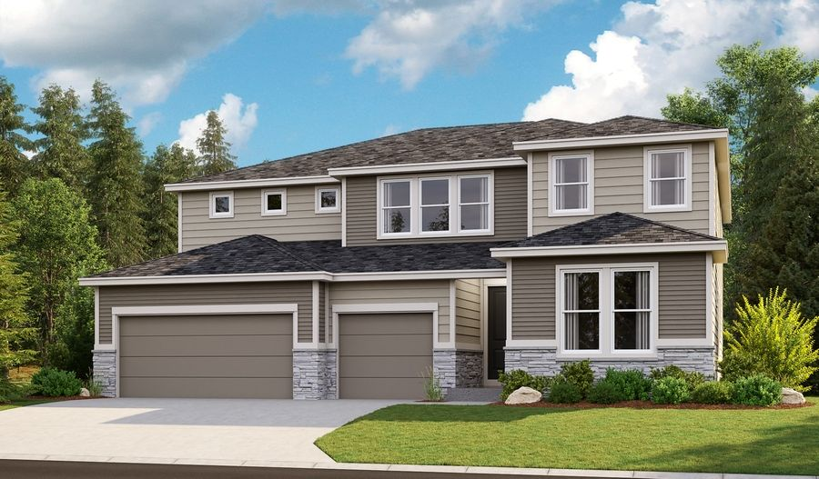 Exterior featured in the Dayton By Richmond American Homes in Portland-Vancouver, WA