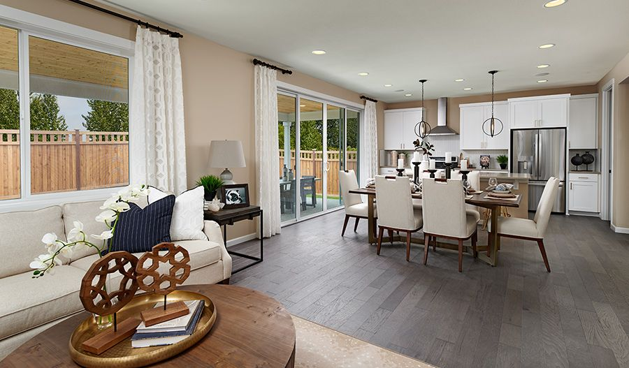 Living Area featured in the Lapis By Richmond American Homes in Salem, OR