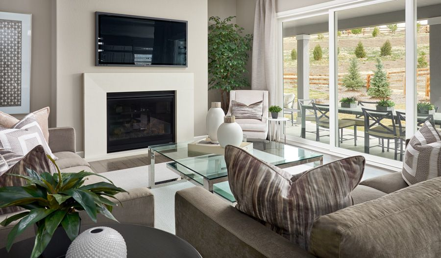 Living Area featured in the Dayton By Richmond American Homes in Portland-Vancouver, WA