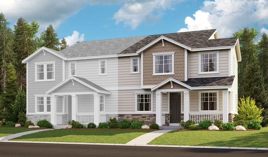 Exterior featured in the Norah By Richmond American Homes in Portland-Vancouver, OR
