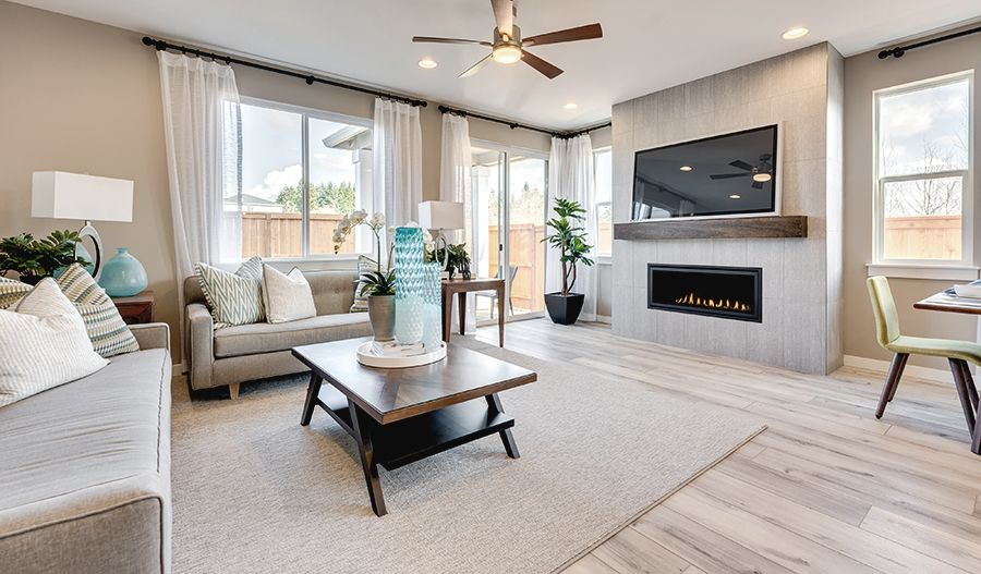 Living Area featured in the Ironwood By Richmond American Homes in Portland-Vancouver, WA