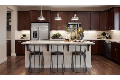 Kitchen-in-Thomas-at-Sandpointe at River Islands-in-Lathrop