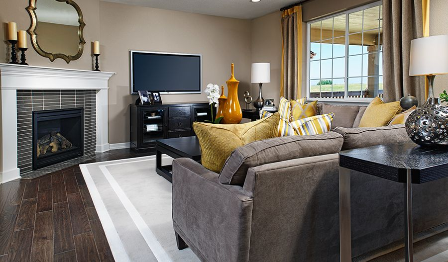 Living Area featured in the Hemingway By Richmond American Homes in Denver, CO