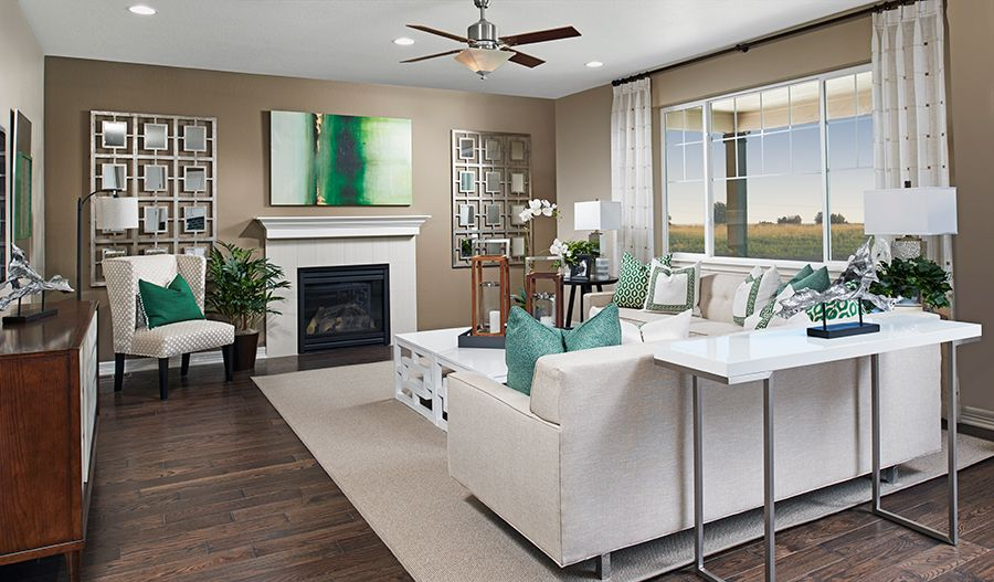 Living Area featured in the Alcott By Richmond American Homes in Boulder-Longmont, CO