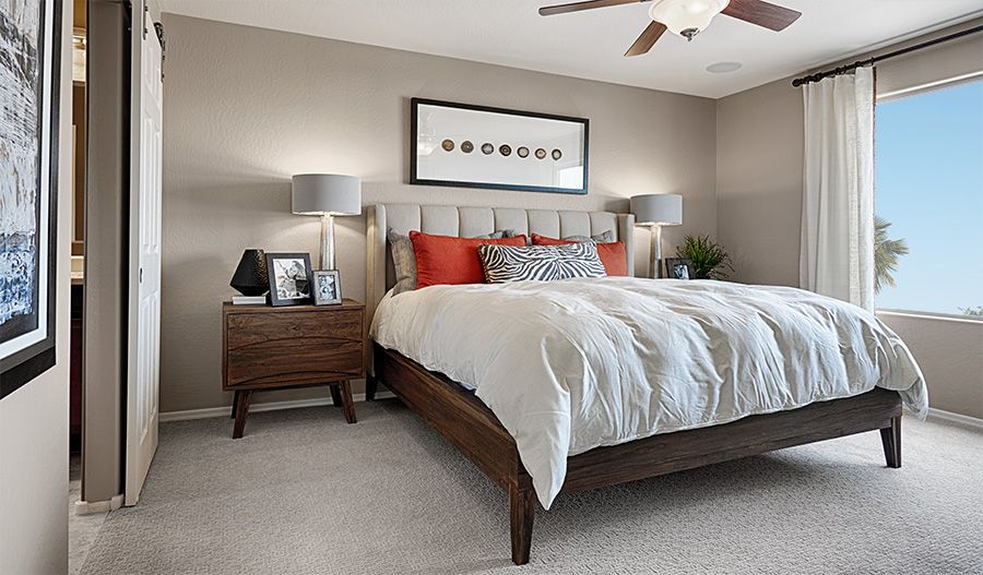 Bedroom featured in the Citrine By Richmond American Homes in Denver, CO