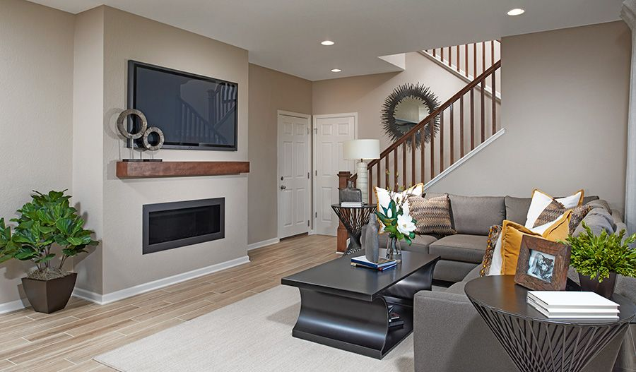 Living Area featured in the Citrine By Richmond American Homes in Denver, CO