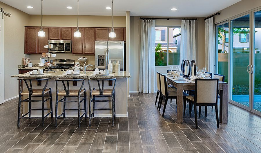 Kitchen featured in the Citrine By Richmond American Homes in Denver, CO
