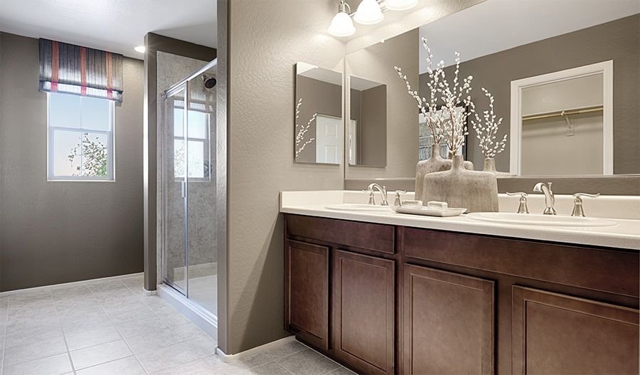 Bathroom featured in the Citrine By Richmond American Homes in Denver, CO