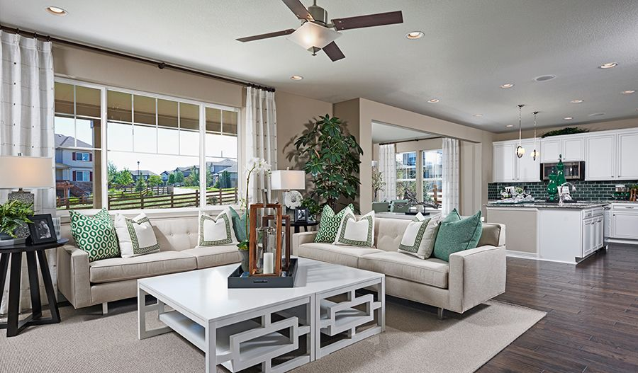 Living Area featured in the Alcott By Richmond American Homes in Greeley, CO