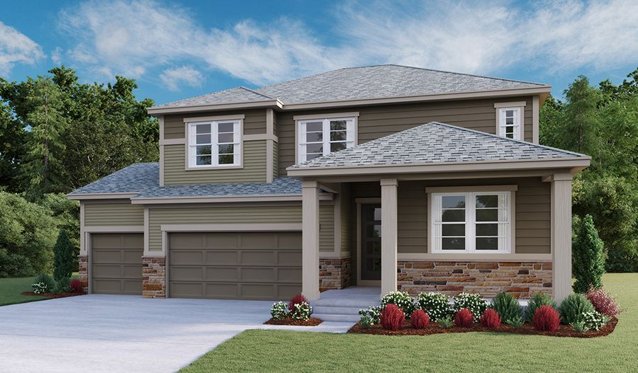 Exterior featured in the Hopewell By Richmond American Homes in Boulder-Longmont, CO