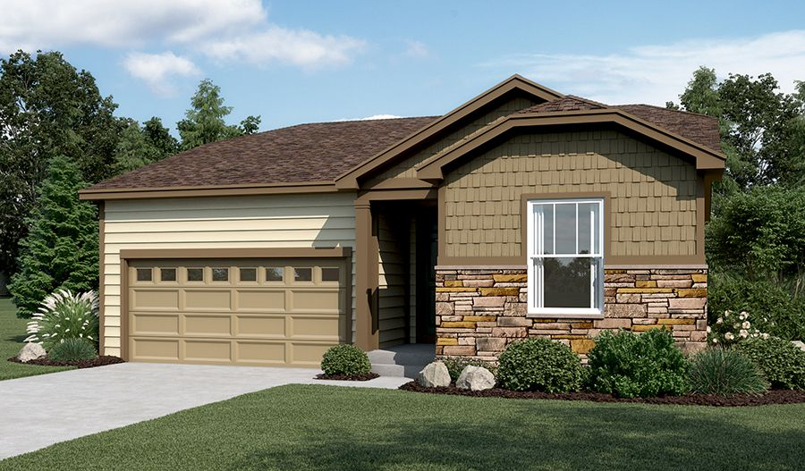 Exterior featured in the Amethyst By Richmond American Homes in Fort Collins-Loveland, CO