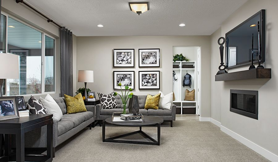 Living Area featured in the Bedford By Richmond American Homes in Boulder-Longmont, CO
