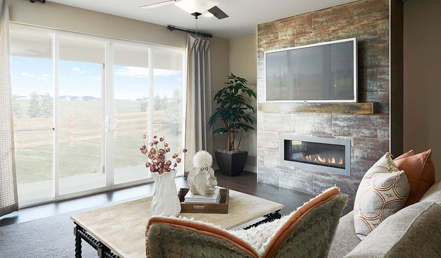 Living Area featured in the Arlington By Richmond American Homes in Fort Collins-Loveland, CO