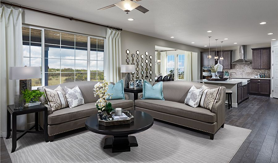 Living Area featured in the Yorktown By Richmond American Homes in Fort Collins-Loveland, CO