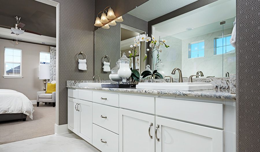 Bathroom featured in the Dallas By Richmond American Homes in Boulder-Longmont, CO