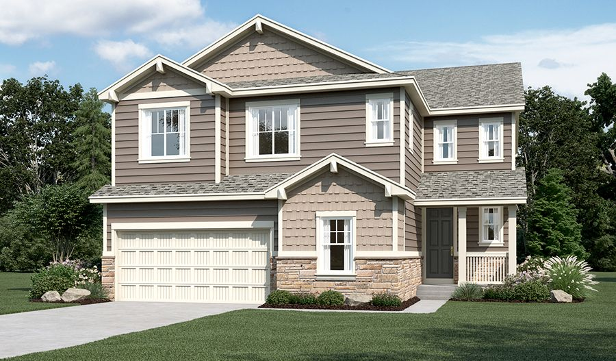 Exterior featured in the Yorktown By Richmond American Homes in Boulder-Longmont, CO