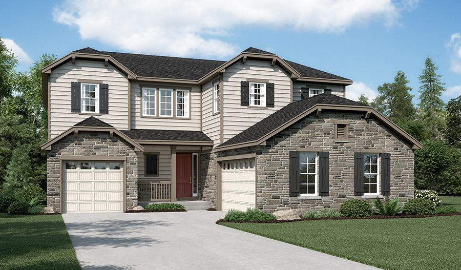 Exterior featured in the Daley By Richmond American Homes in Boulder-Longmont, CO