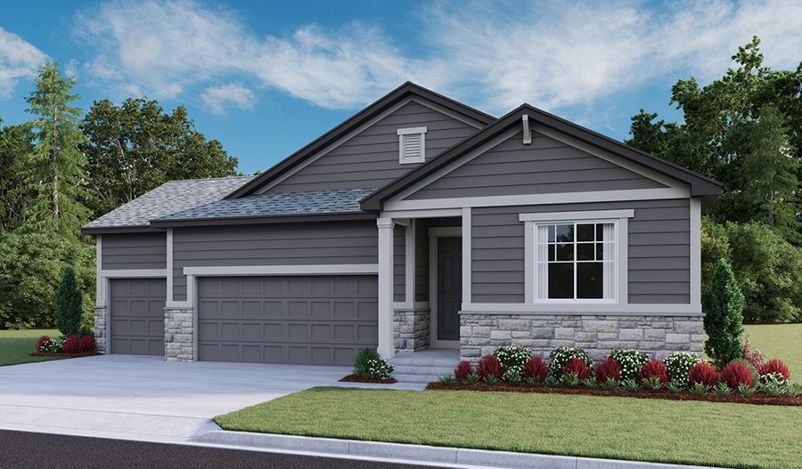 Exterior featured in the Arlington By Richmond American Homes in Boulder-Longmont, CO