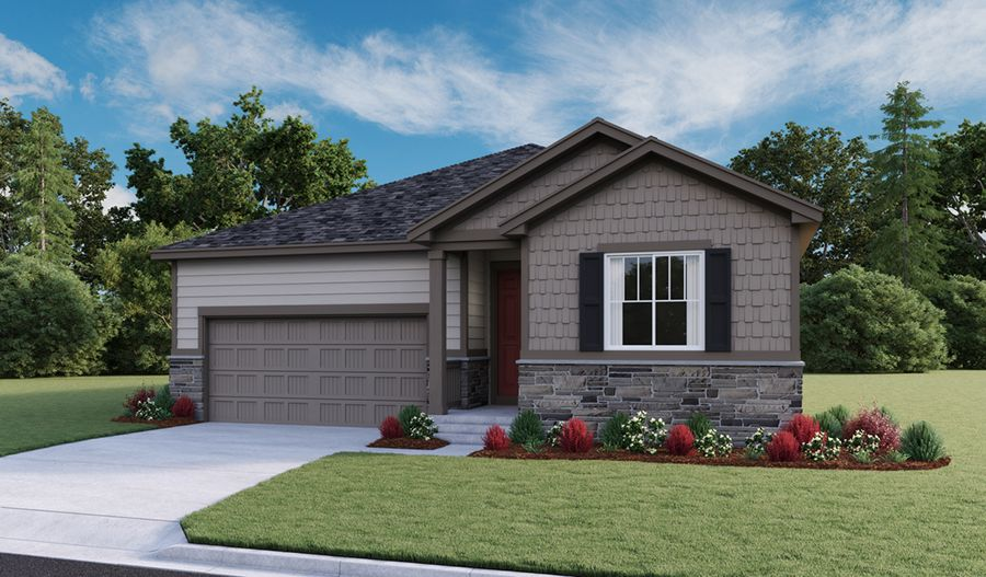 Exterior featured in the Arlington By Richmond American Homes in Fort Collins-Loveland, CO