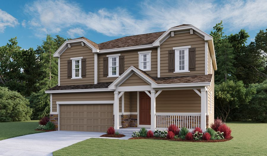 Exterior featured in the Bedford By Richmond American Homes in Fort Collins-Loveland, CO