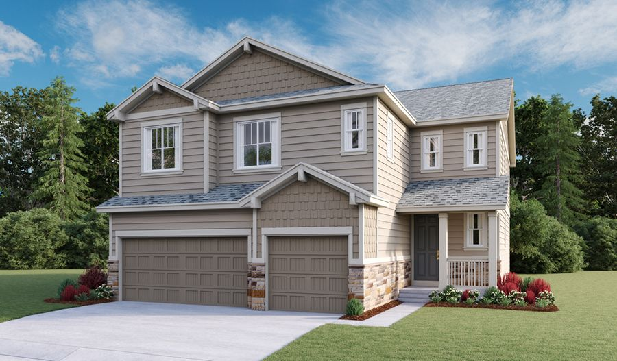 Exterior featured in the Yorktown By Richmond American Homes in Fort Collins-Loveland, CO