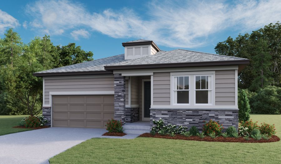 Exterior featured in the Onyx By Richmond American Homes in Fort Collins-Loveland, CO