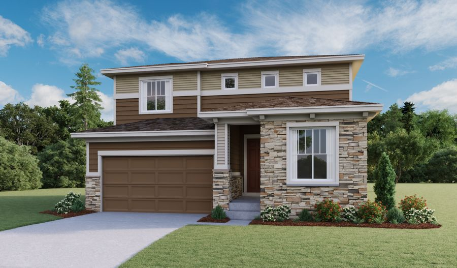 Exterior featured in the Citrine By Richmond American Homes in Fort Collins-Loveland, CO