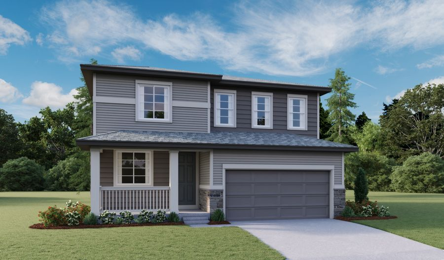 Exterior featured in the Lapis By Richmond American Homes in Fort Collins-Loveland, CO