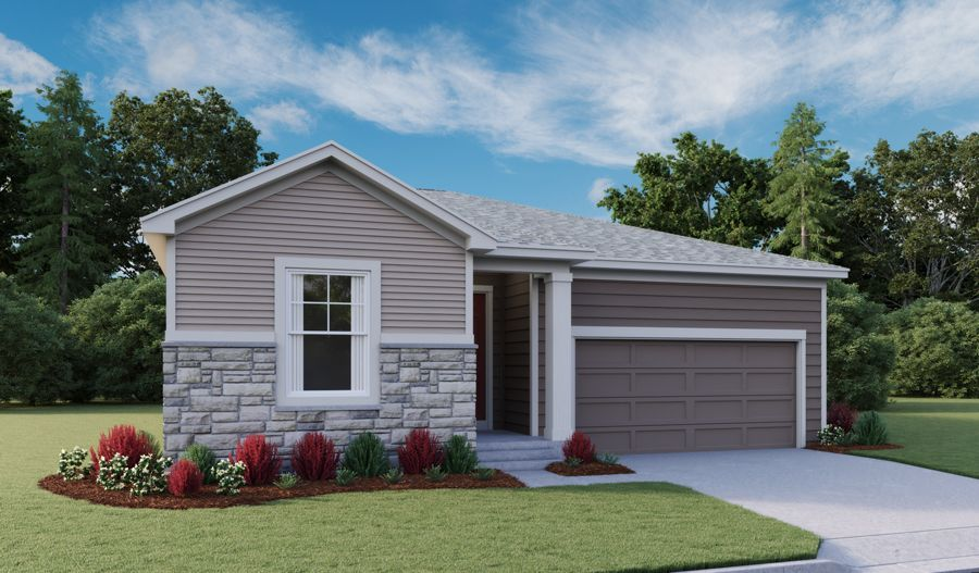 Exterior featured in the Alexandrite By Richmond American Homes in Fort Collins-Loveland, CO