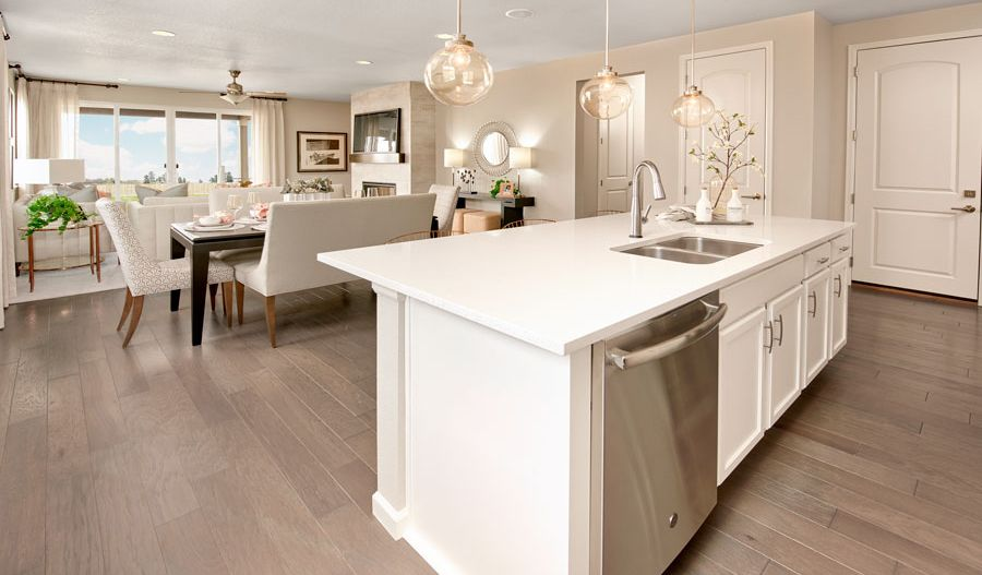 Kitchen featured in the Alexandrite By Richmond American Homes in Fort Collins-Loveland, CO