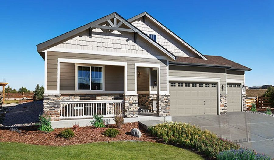 Exterior featured in the Alcott By Richmond American Homes in Boulder-Longmont, CO