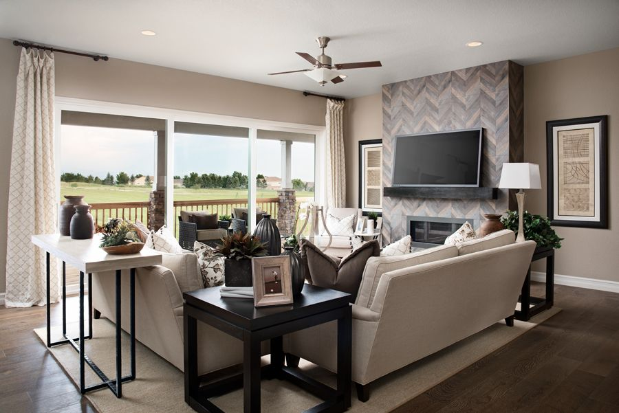 Living Area featured in the Dayton By Richmond American Homes in Denver, CO