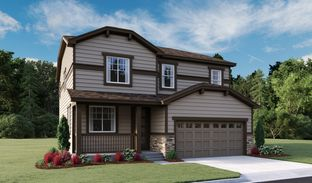 Lapis - Seasons at Colliers Hill Sales Center: Erie, Colorado - Richmond American Homes