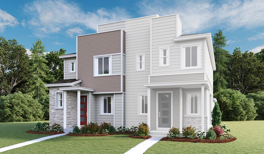 Exterior featured in the Boston By Richmond American Homes in Denver, CO
