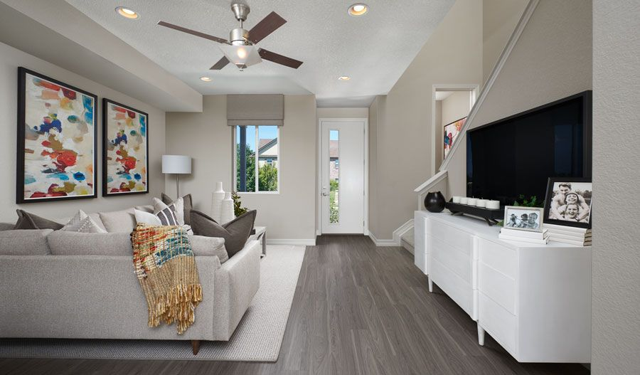 Living Area featured in the Boston By Richmond American Homes in Denver, CO