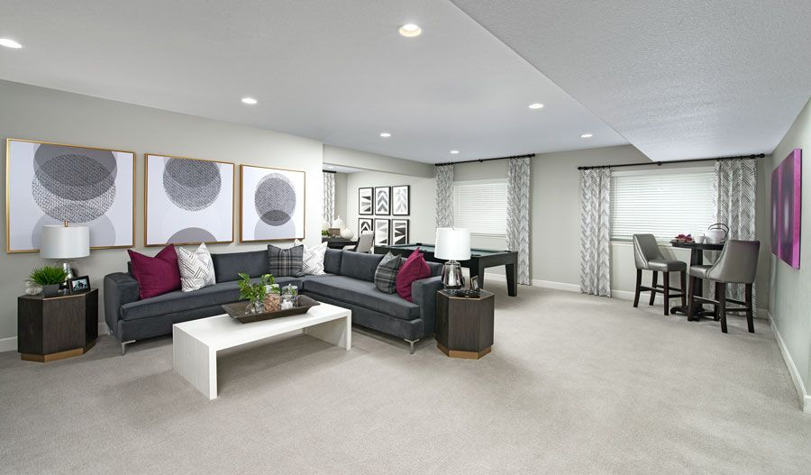 Living Area featured in the Dillon II By Richmond American Homes in Denver, CO