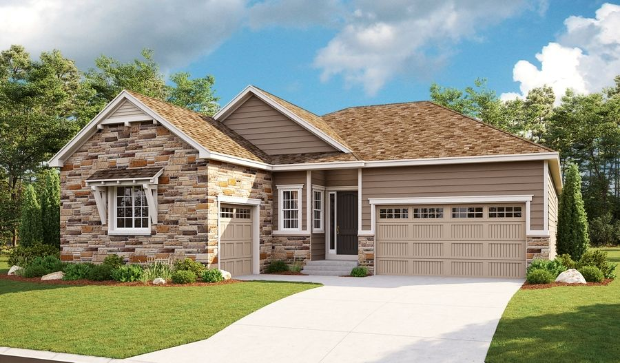 Exterior featured in the Delaney By Richmond American Homes in Fort Collins-Loveland, CO