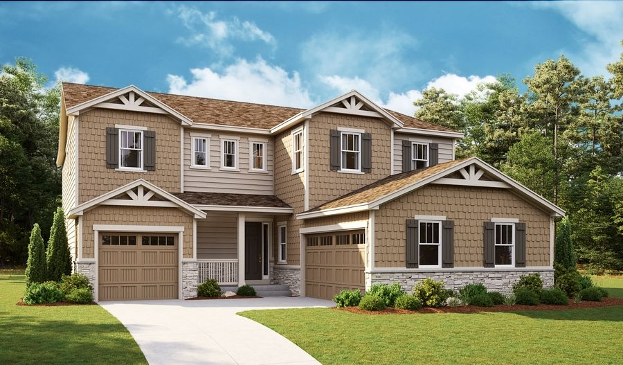 Exterior featured in the Daley By Richmond American Homes in Fort Collins-Loveland, CO