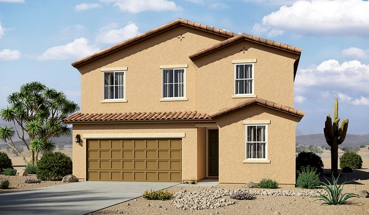 Pearl-T913-LaEstancia Elevation A:The Pearl - Elevation A