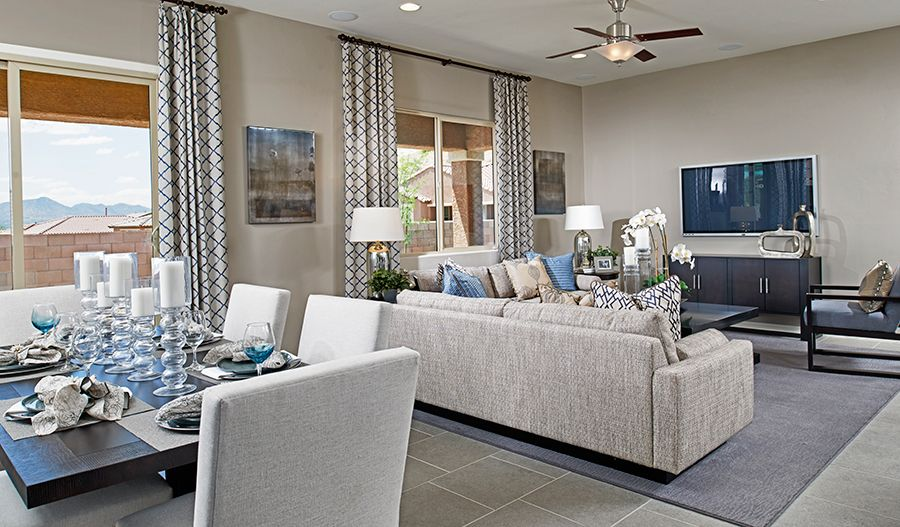 Living Area featured in the Timothy By Richmond American Homes in Tucson, AZ