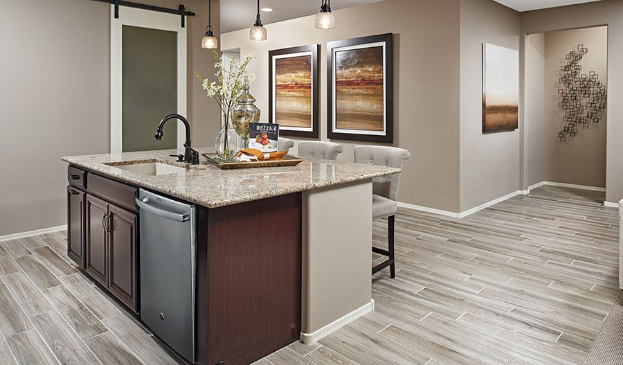 Kitchen featured in the Arlington By Richmond American Homes in Tucson, AZ