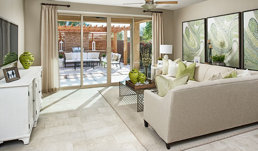 Living Area featured in the Peridot By Richmond American Homes in Tucson, AZ
