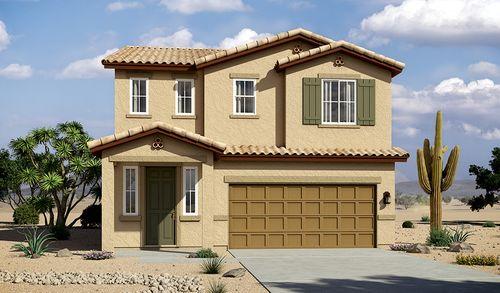 Entrada La Villita by Richmond American Homes in Tucson Arizona