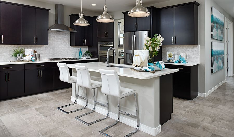 Kitchen featured in the Raleigh By Richmond American Homes in Tucson, AZ